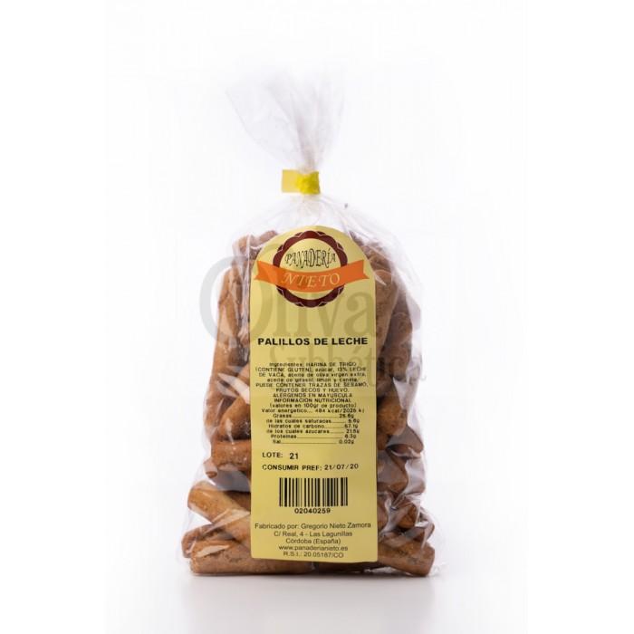 Palitos De Leite Artesanal Fabricados Pela Nieto Bakery Bag 445 Gr
