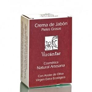 Sabão com Organic EVOO para pele oleosa