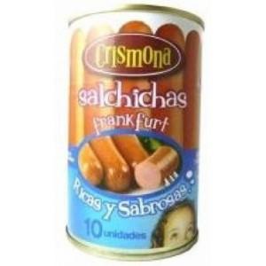 Frankfurt style sausages Crismona Tin 230 gr.